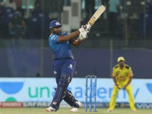 Kieron Pollard hits fastest IPL fifty to guide Mumbai Indians win against CSK in IPL 2021