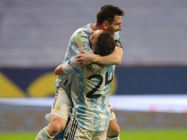 Argentina beat Paraguay in Copa America 2021 group match