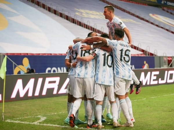 Argentina beat Uruguay in group match at Copa America 2021