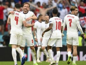 Harry Kane scored against Germany in Euro 2020 round of 16 match