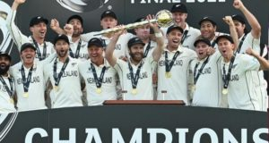 New Zealand beat India in final to win inaugural ICC World Test Championship