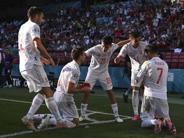 Spain qualified for Euro 2020 Quarter-finals defeating Croatia