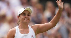 Ashleigh Barty beat Angelique Kerber to reach Wimbledon final