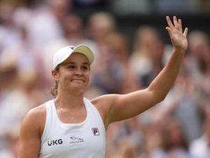 Ash Barty enter Wimbledon 2021 final