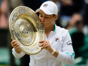 Ash Barty wins Wimbledon 2021 women's singles title beating Karolina Pliskova