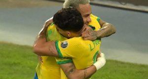 Brazil storm into Copa America 2021 final as Paqueta score against Peru in semis
