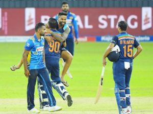 India beat Sri Lanka in 2nd ODI