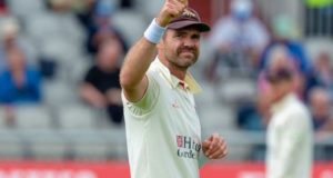 James Anderson takes 1000 wickets in first class cricket