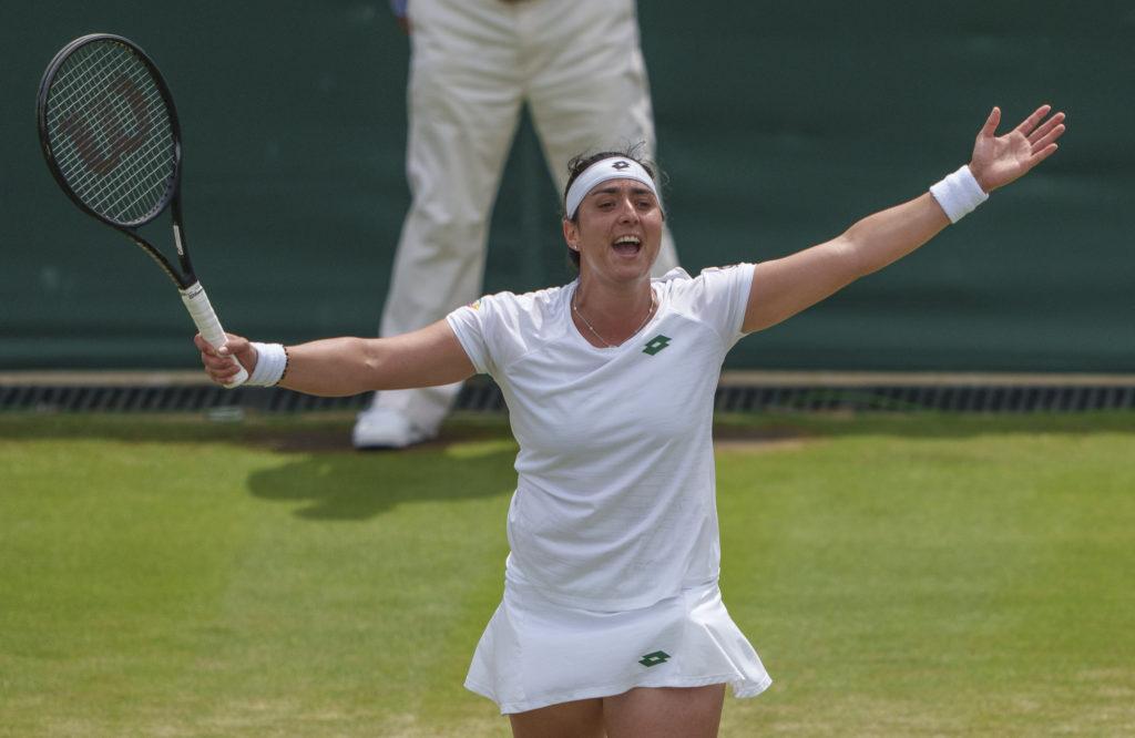Ons Jabeur first Tunisian woman to reach Wimbledon quarterfinals