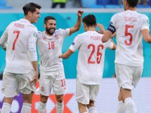Spain defeat Switzerland to reach Euro 2020 semifinals