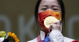 Tokyo Olympics 2020: Chinese shooter Yang Qian wins first gold medal of the event