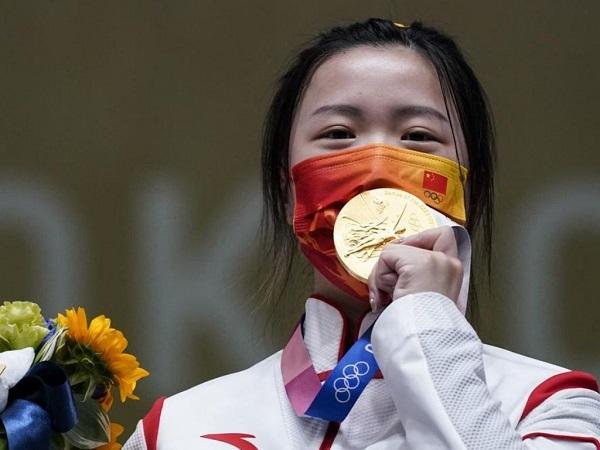 Yang Qian wins first gold medal of Tokyo 2020 Olympics