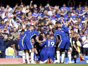 Chelsea beat Crystal Palace by 3-0 on 14 August 2021