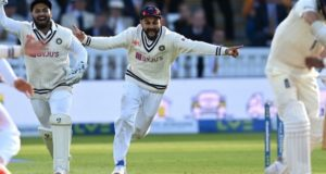 Fired up Indian bowlers bowl out England in 2 sessions to win Lord's test