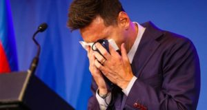 Tearful Messi confirms he is leaving FC Barcelona