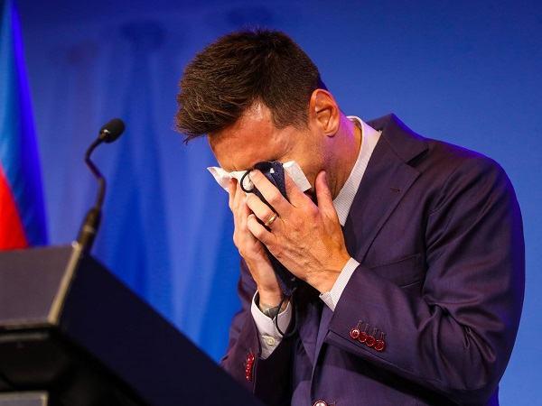 Lionel Messi leaves Barcelona football club