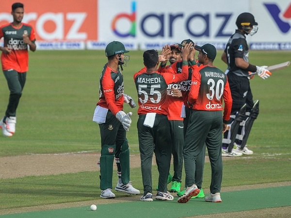 New Zealand all out for 60 runs against Bangladesh in T20I