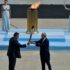 Greece hands over Olympic flame to Beijing 2022 Winter Games host