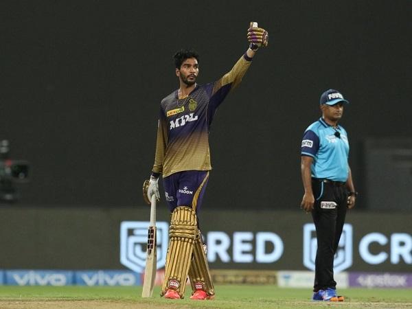Venkatesh Iyer scored fifty against Delhi Capitals in IPL 2021 Qualifier-2